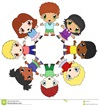 circle of children